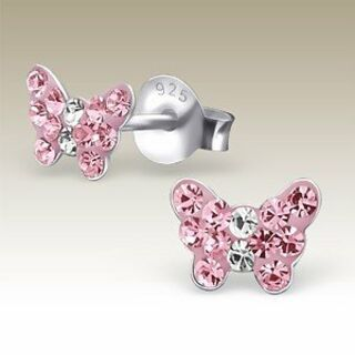 Butterfly Light Pink Crystal