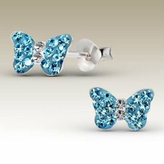 Butterfly - Blue Crystal