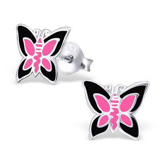 Butterfly Black and Pink