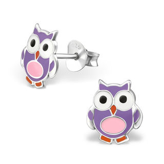 Owl Purple and Pink