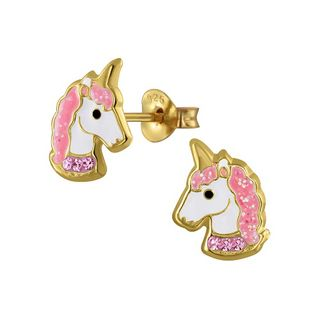 Unicorn, Crystal and Pink 14K