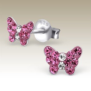 Butterfly - Petite Rose Crystal