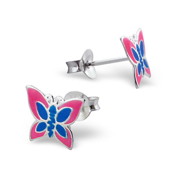 Butterfly Pink and Blue