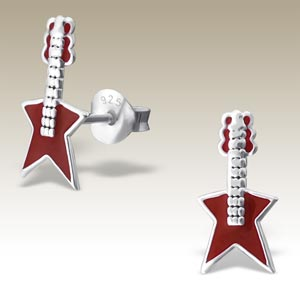 Guitar Electric Red