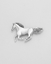 Brooch - Galloping Horse