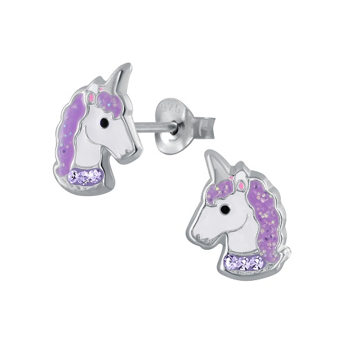 Unicorn - Purple Crystal Collar