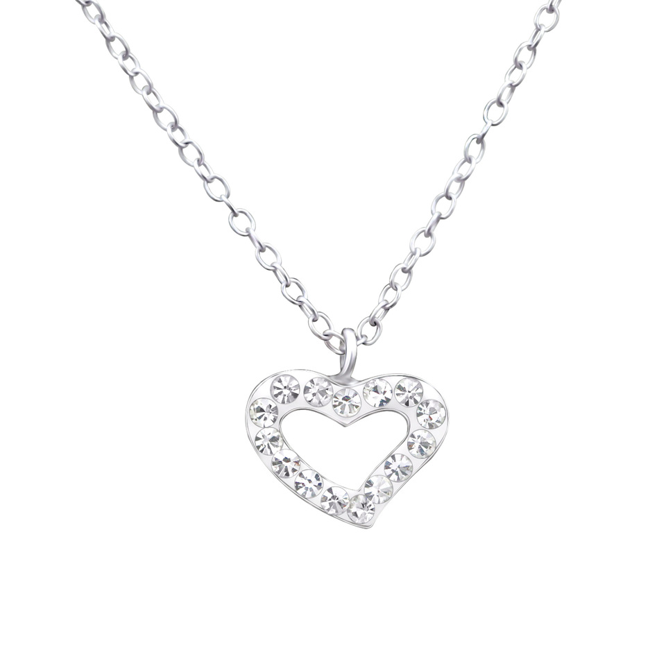 Heart - Crystal Necklace